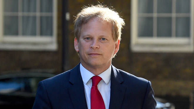 Grant Shapps will have to quarantine for 14 days when he returns from Spain
