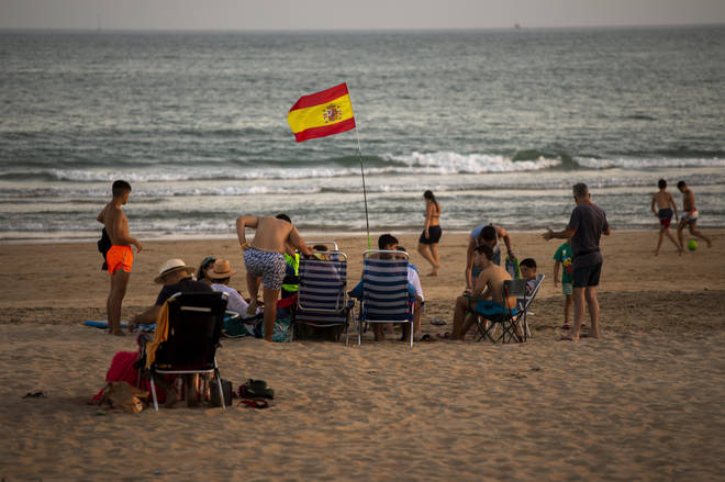 Spain has been removed from the UK 'safe list'