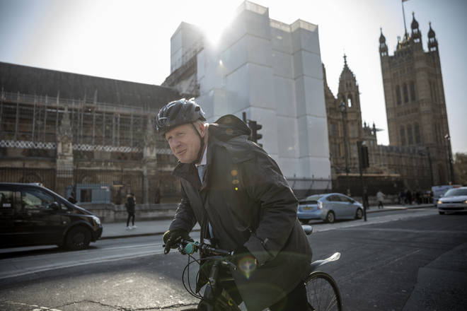 Boris Johnson is set to announce a government cycling initiative