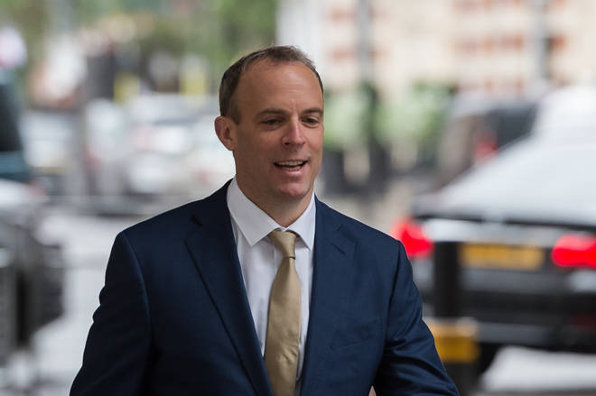 Dominic Raab said people need to 'take more responsibility' for their health