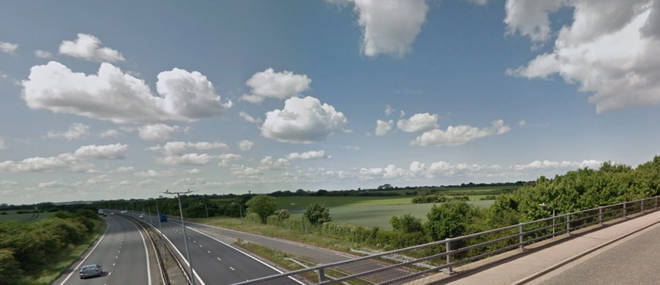 The crash happened near Thanet, in Kent