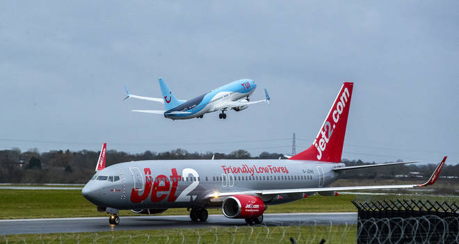 Tui and Jet2 have both cancelled flights
