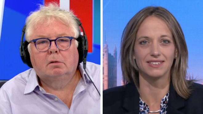 Nick Ferrari asked Helen Whately why the government are paying for half-price fast food