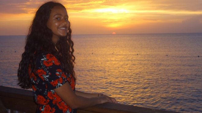 Anisha Vidal-Garner, 20, from Epping, Essex, was killed in the crash