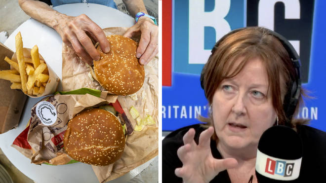 """Very obese"" caller tells LBC the Government&squot;s anti-obesity drive is ""too simplistic"""