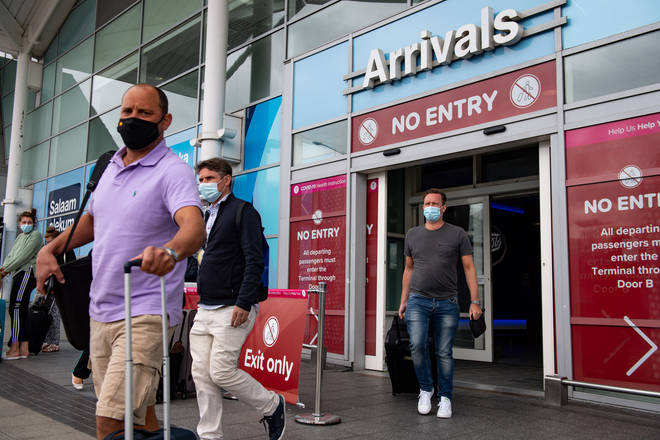 Arrivals from Spain are required to quarantine for 14-days on their return to the UK