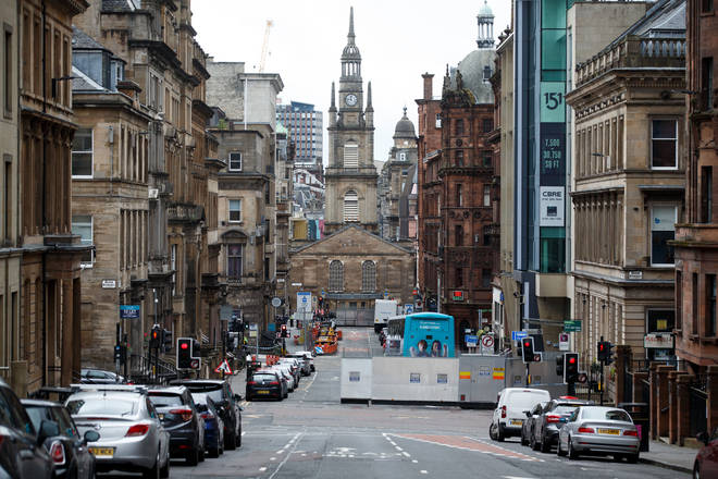 Officials were criticised for housing asylum seekers in hotels after the Glasgow attack