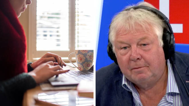 Nick Ferrari told employers to get their workers back in the office