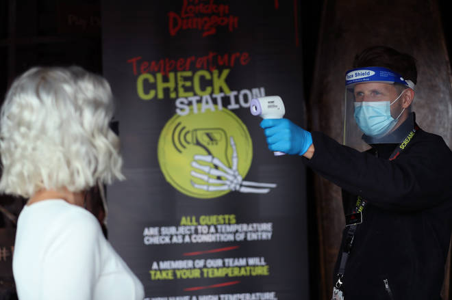 Temperature checks will be lurking in the London Dungeon