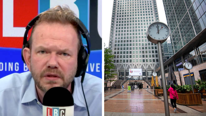James O'Brien said employers are entitled to keep people at home