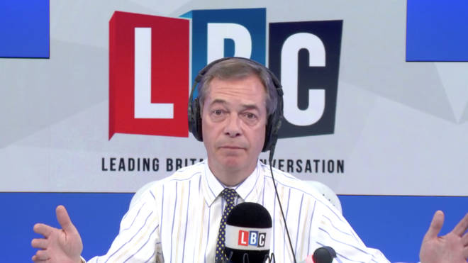 "Nigel Farage has called on the Prime Minister to ""chuck Chequers"""