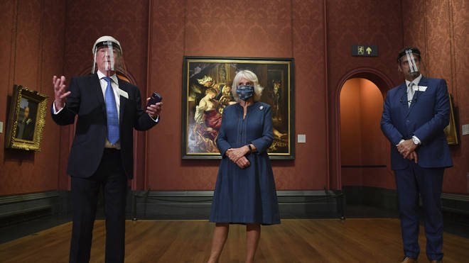 The National Gallery opened after 111 days closed