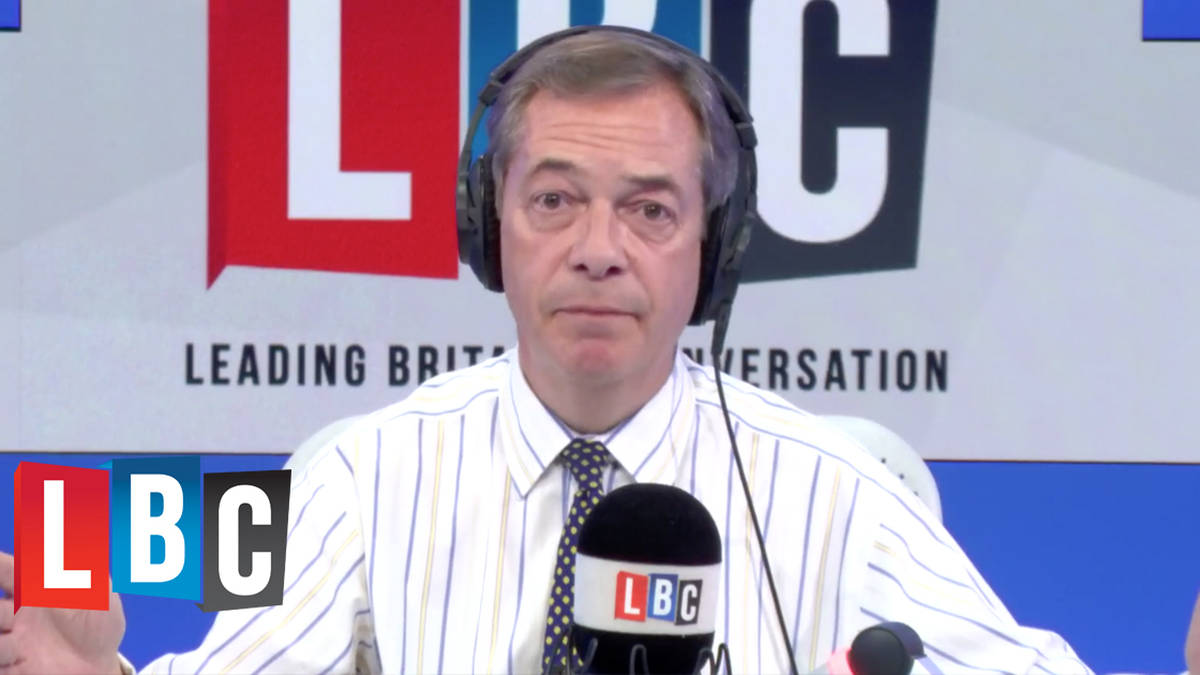 Chuck Chequers And Offer The EU An Ultimatum: Nigel Farage Tells PM