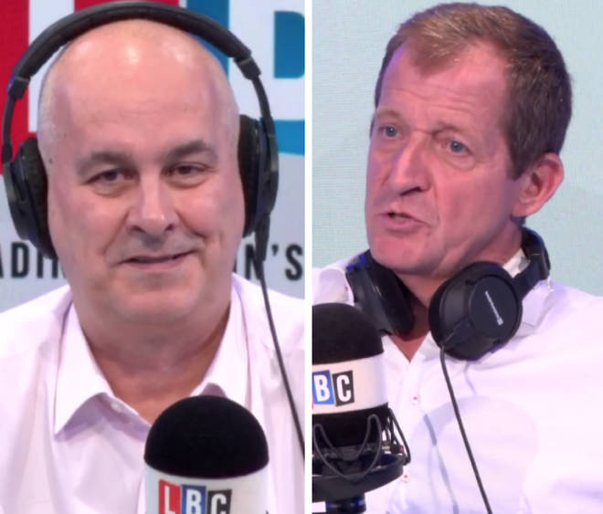 Iain Dale and Alastair Campbell were involved in a Brexit bust-up