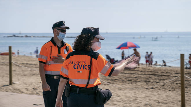 Summer holidays are further at risk over a second wave of coronavirus across Europe
