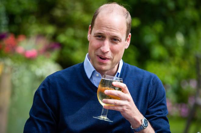 Prince William is an avid Villa fan