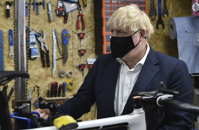 Boris Johnson has pledged £2 billion to boost cycling