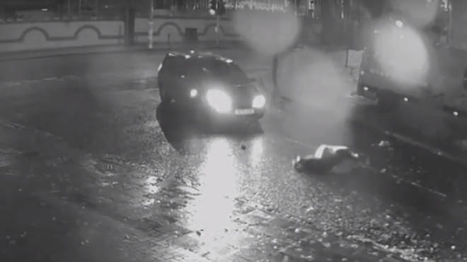 CCTV has been released of the shocking hit-and-run.