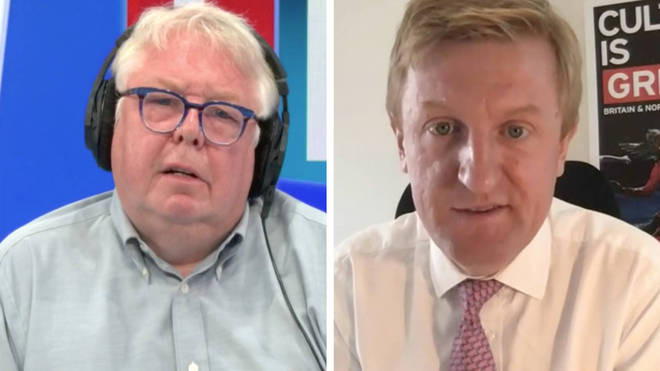 Nick Ferrari asked Culture Secretary Oliver Dowden if he was ready to apologise on care homes