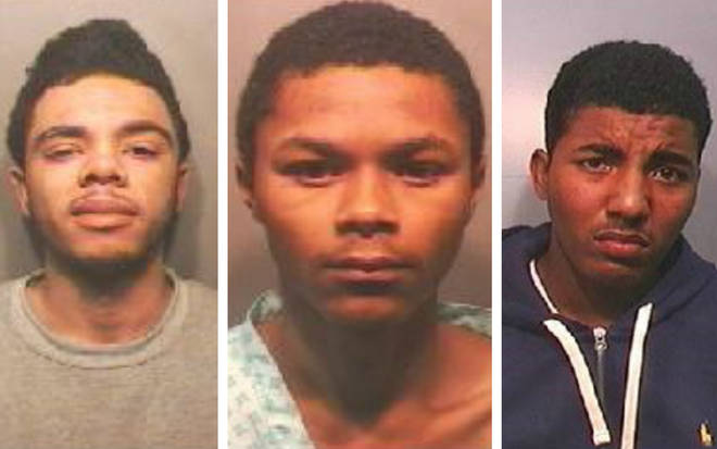 Che Stephens, Imani Pobi Da Silva and Luca Sanni have all been jailed
