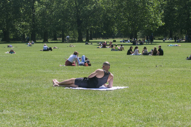 A 'mini heatwave' is expected
