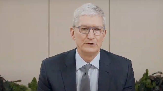 Apple CEO Tim Cook was questioned by the committee