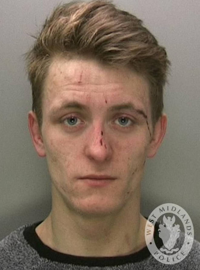 Taron McAuley has since been jailed for the incident