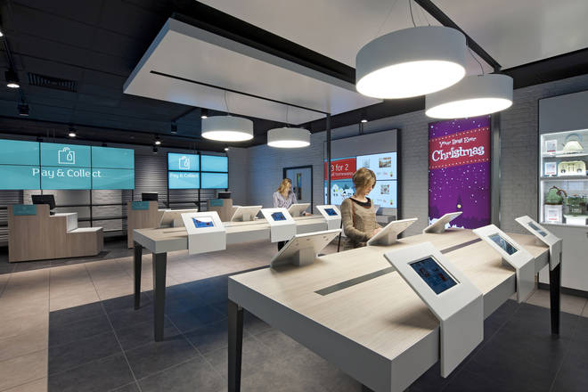 Argos has phased out its in-store catalogues for digital tablets in recent years