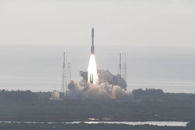The Nasa rover blasted off into space on Thursday