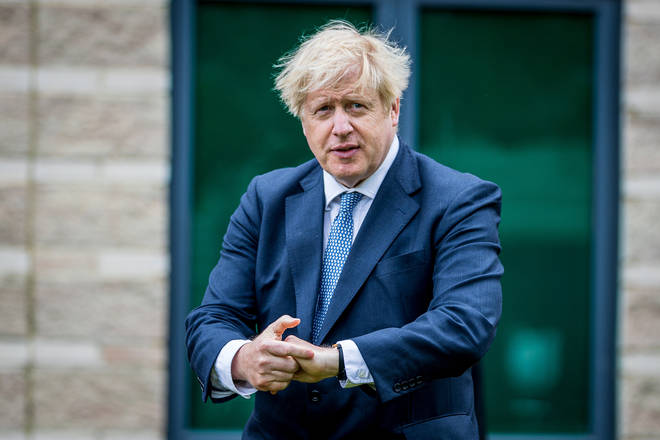 Boris Johnson made the comments on a visit to North Yorkshire
