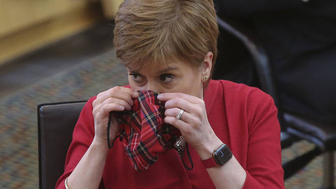 The news was announced by First Minister Nicola Sturgeon as she detailed provisional plans to move some sectors closer to normality