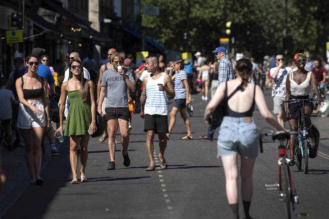 The UK is heading for a day of hot weather