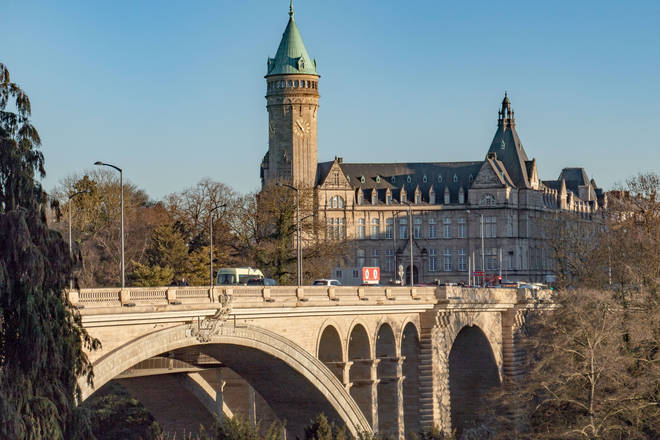 File photo: Adolphe Bridge In Luxembourg