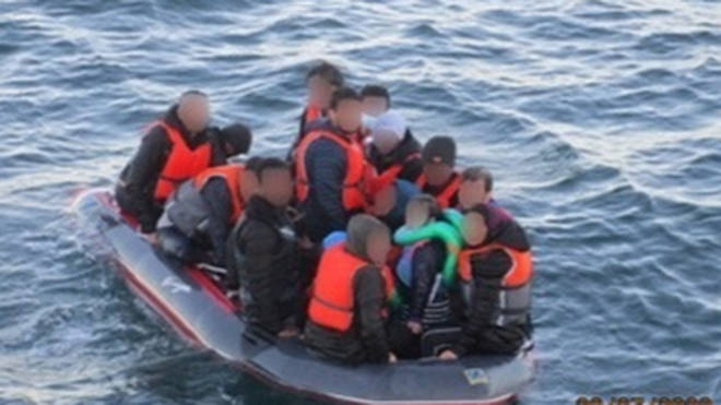 At least 202 migrants tried to cross into England on Thursday