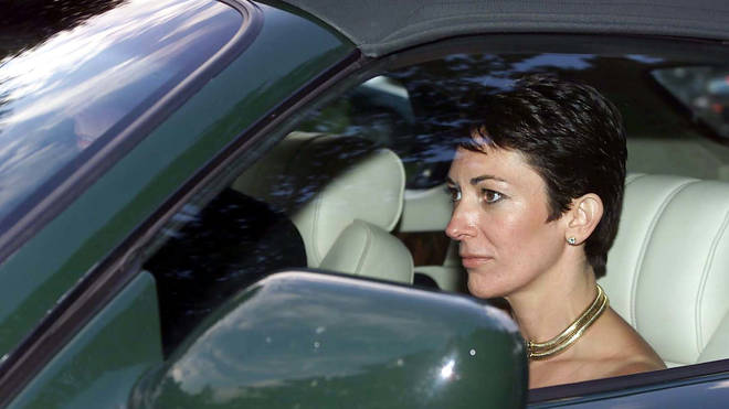 Ghislaine Maxwell pictured with Prince Andrew in 2000
