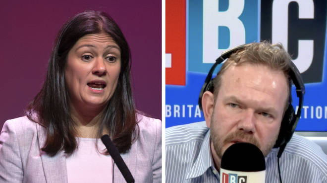 "MP Lisa Nandy tells James O&squot;Brien Government cannot just ""announce lockdowns on Twitter"""