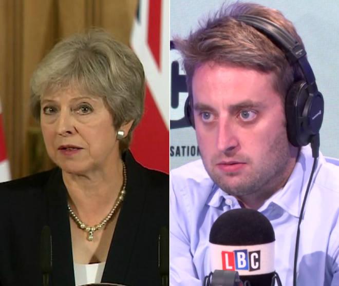 Theo Usherwood responds to Theresa May's statement