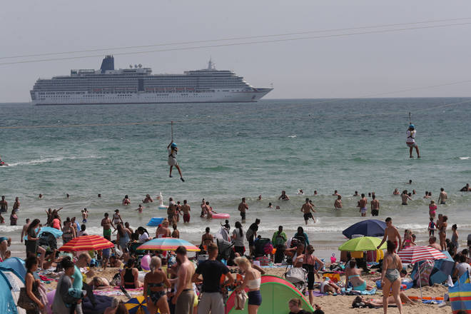 Concers have been raised about the number of people in Bournemouth