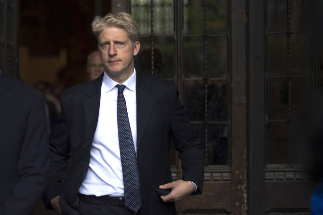 The Prime Minister's younger brother Jo Johnson has been nominated for a peerage