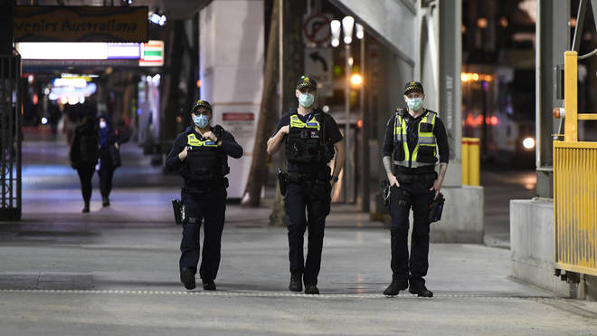 Police in Melbourne are preparing to enforce a curfew as part of the new coronavirus measures