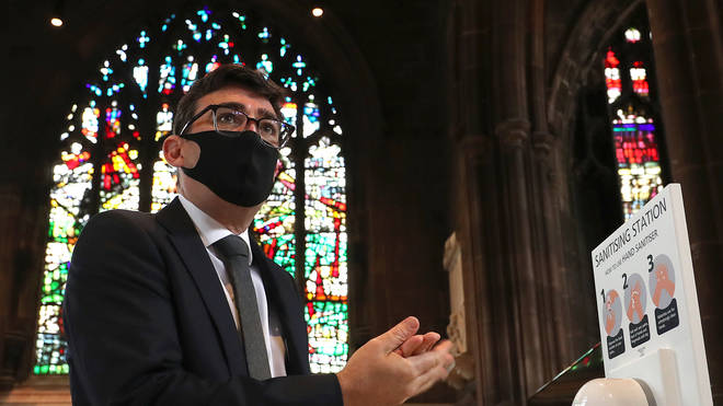 Andy Burnham has slammed the decision to pause shielding in Greater Manchester