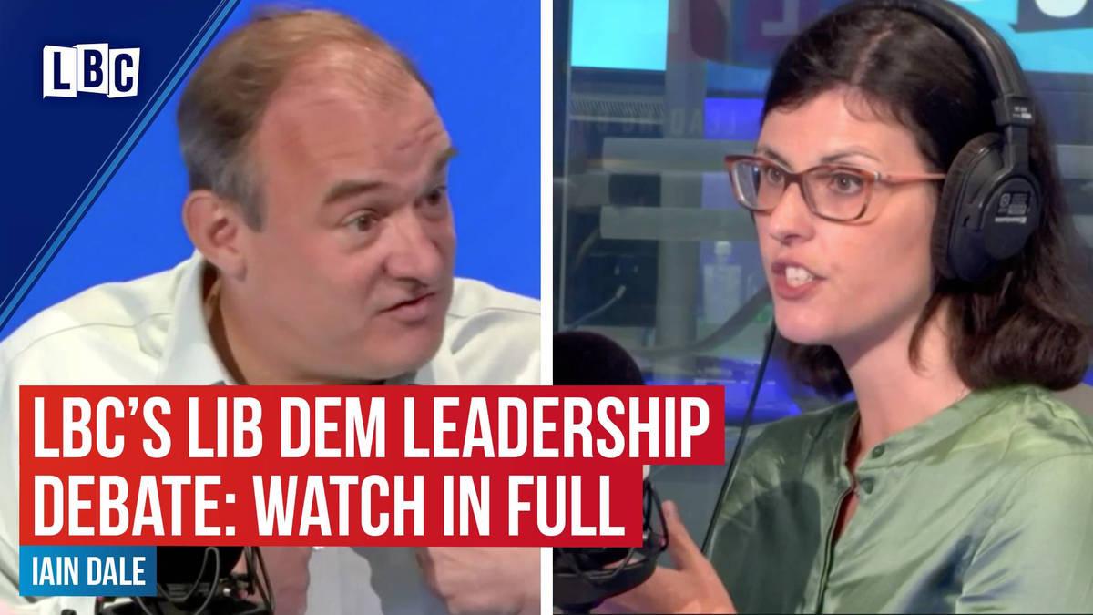 LBC's Lib Dem Leadership Debate: Watch in Full