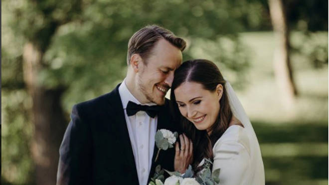 Finnish Prime Minister Sanna Marin has married eight months after becoming the head of her government