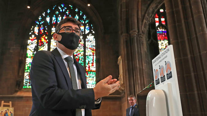 Today's news comes as the mayor of Greater Manchester Andy Burnham slammed the decision to pause shielding in the county