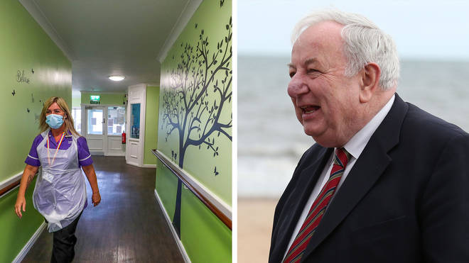 Lord Foulkes criticised the plan for over-50s to shield