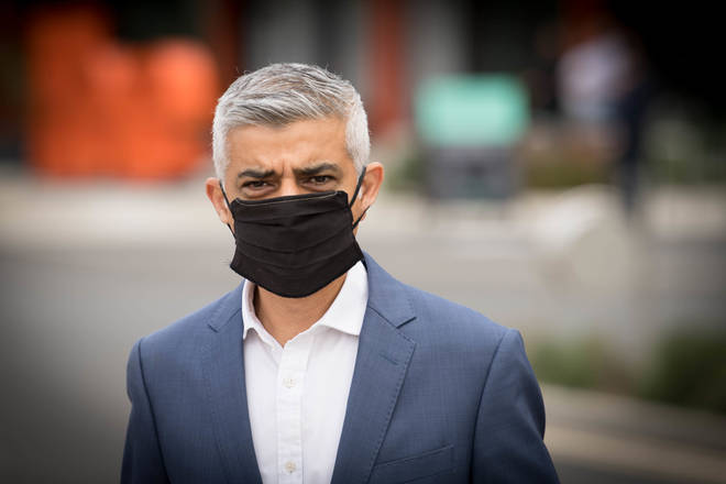 "Sadiq Khan has written to Boris Johnson after it was reported that the M25 could be used as a ""quarantine ring"" for a lockdown of the capital"