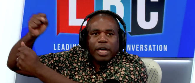 "David Lammy talks about Russian bots ""winding up"" the debate in the UK"
