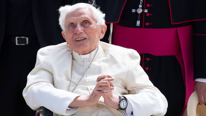 Pope Benedict XVI has fallen ill after returning to Italy