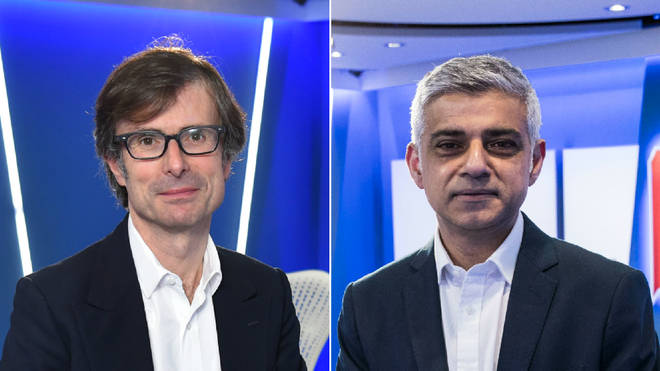 Robert Peston and Sadiq Khan will host LBC's morning show this week