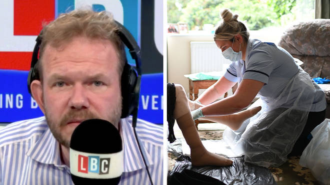 James O'Brien heard some heartbreaking stories about care homes
